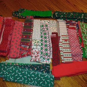 Holiday quilt strips